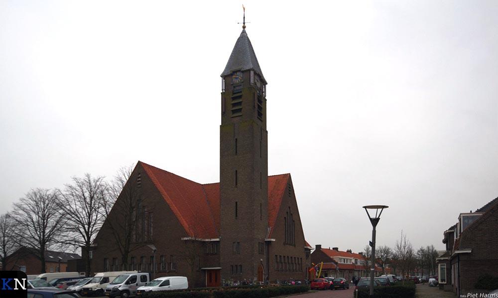 De in 1930 gebouwde Westerkerk aan de Wilhelminalaan in Brunnepe (Kampen).