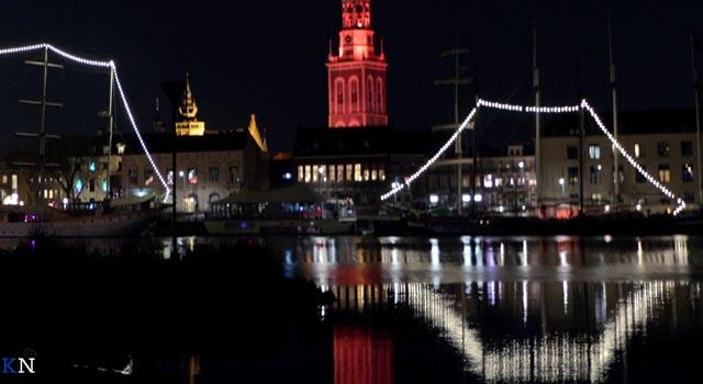Nieuwe Toren en Stadsbrug kleuren oranje tegen huiselijk geweld