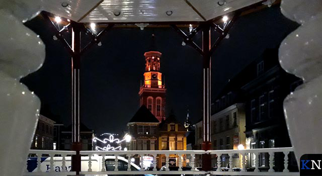 Nieuwe Toren licht oranje op voor 'Orange the World'