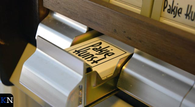 Pakje Kunst strijkt neer in Stadsgehoorzaal