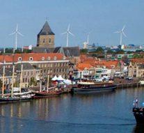 Kamper stadsfront verrijkt met windmolens