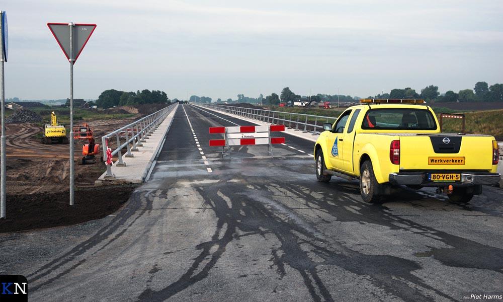 Opening van de Nieuwendijkbrug in juni 2017.