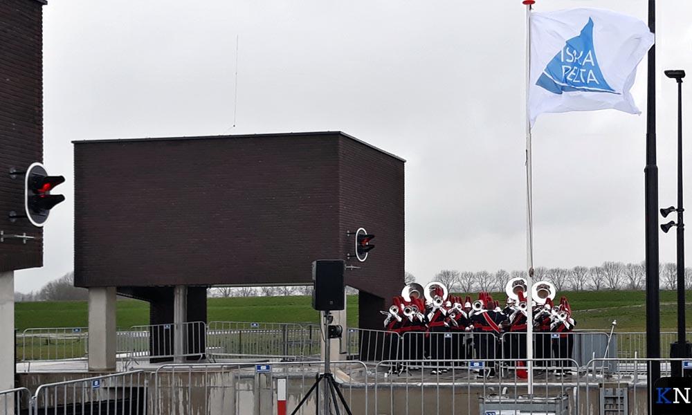 Het Kamper Trompetter Korps speelde tijdens de openingshandeling.