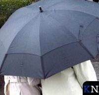 Regen deert rommelmarkt in Zalk niet