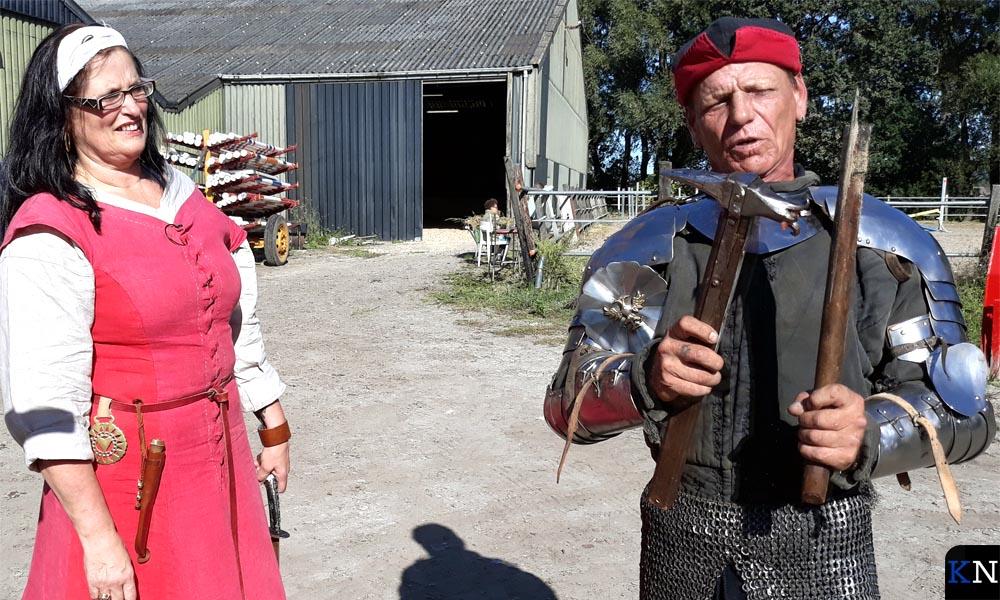 Maria van Kampen & Marcus van Delft tonen hun strijdwapens