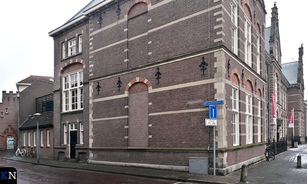 Quintus, centrum voor kunst en educatie, aan de Vloeddijk in Kampen.