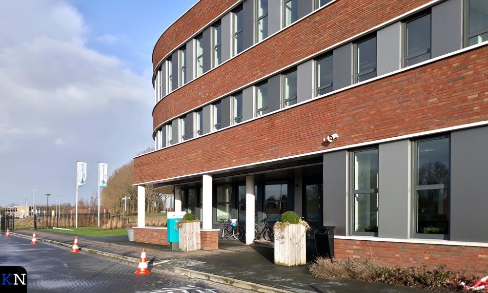 Het schoolgebouw van het Hoornbeeck College is duurzaam gebouwd.