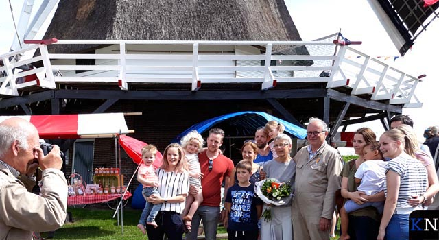Nationale Molendag krijgt koninklijk tintje in Kampen