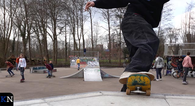 Skatebaan in Stadspark weer open