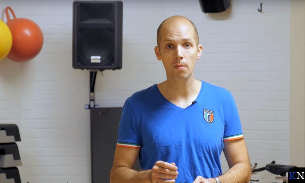 Geert Meijering sport zelf ook.