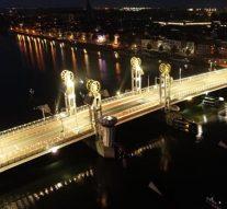 Groot onderhoud Stadsbrug Kampen – voor en na
