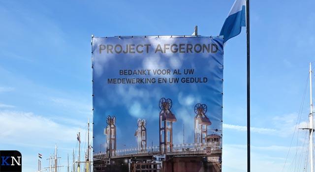 Groot onderhoud Stadsbrug Kampen gereed