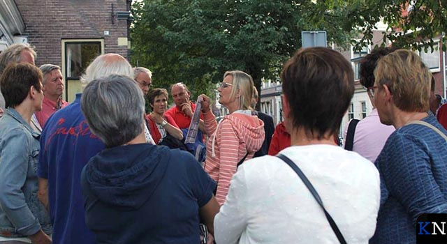 Wie leidt in Kampen de toeristen rond?