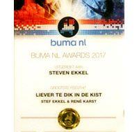 Stef Ekkel ontvangt Bumaprijs en bereidt jubileumconcert voor (video)