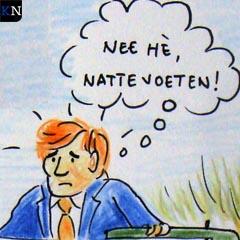 Koning Willem-Alexander bezoekt het Reevediep