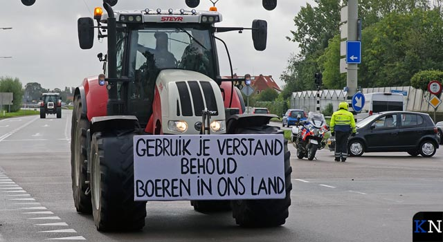 Demonstratieverbod met tractoren vervallen