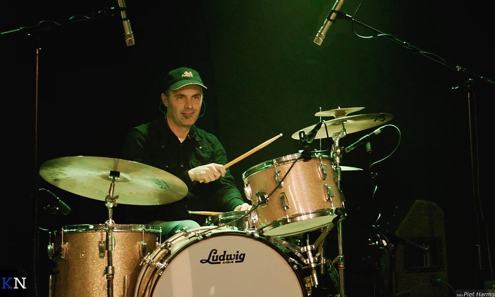 Joop Bosman is de drummer van Henk Jans Enzovoorts