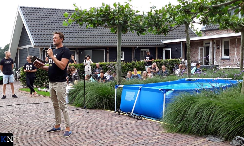 Jeroen ging voor in de openluchtdienst in Kamperveen.