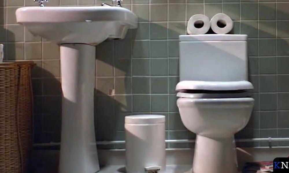 Een zingend toilet.