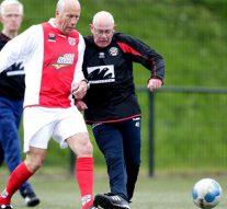 Eerste Walking Football Toernooi met Old Stars IJVV