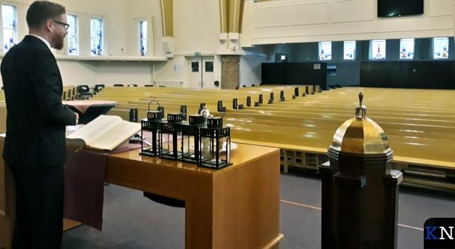 """Lege kerkzalen maar toch wordt """"de lofzang gaande gehouden"""""""