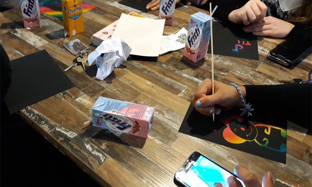 Een betoverend kleurkrasspel kwam ook ter tafel.