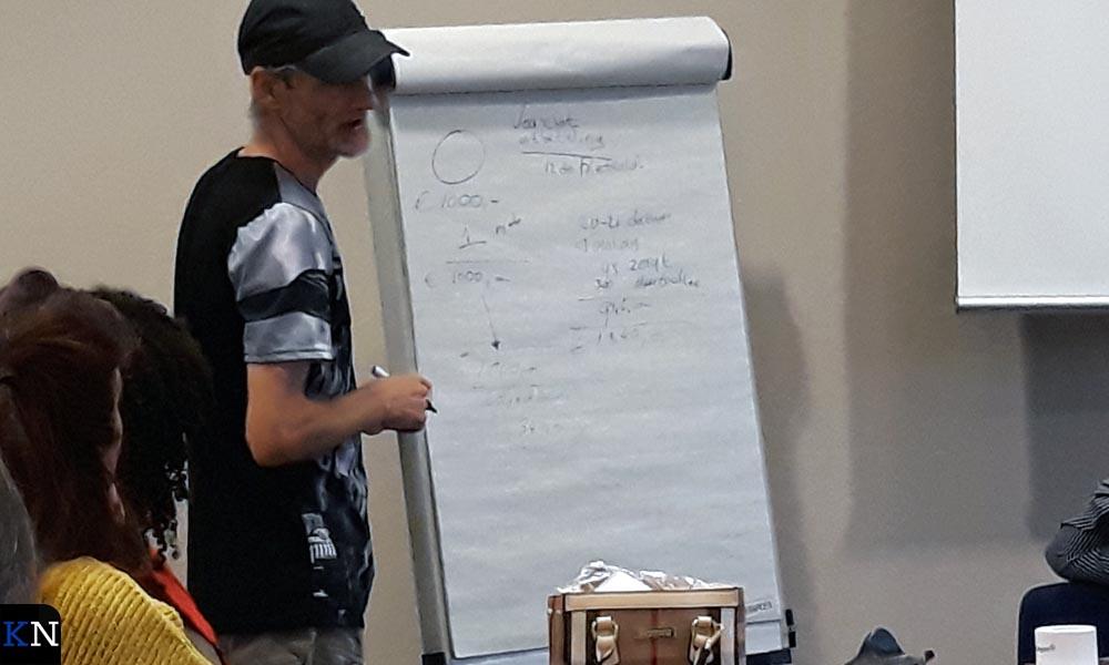 Ruud van de Kerkhof schetste namens RijK de gevolgen van de late uitbetaling.