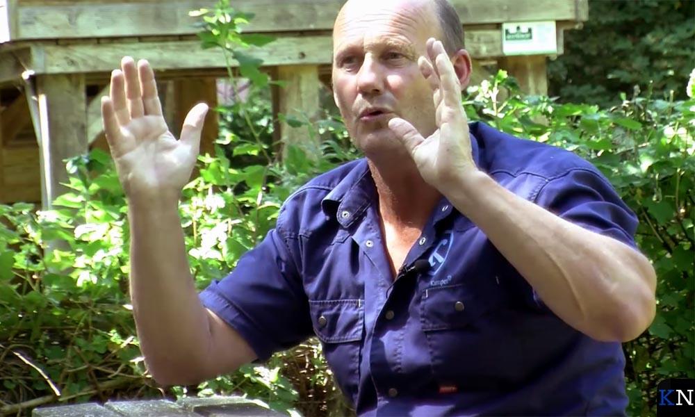 Gert Scholten vertelt over zijn passie voor bomen.