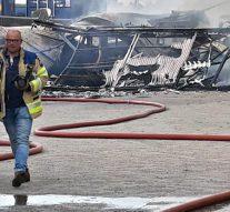 Forse brand veroorzaakt fikse schade bij bedrijf op Spoorlanden