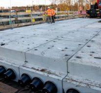 Reevediep testomgeving eerste circulair viaduct