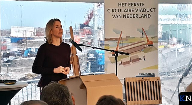 Circulaire infrastructuur begint bij Kampen