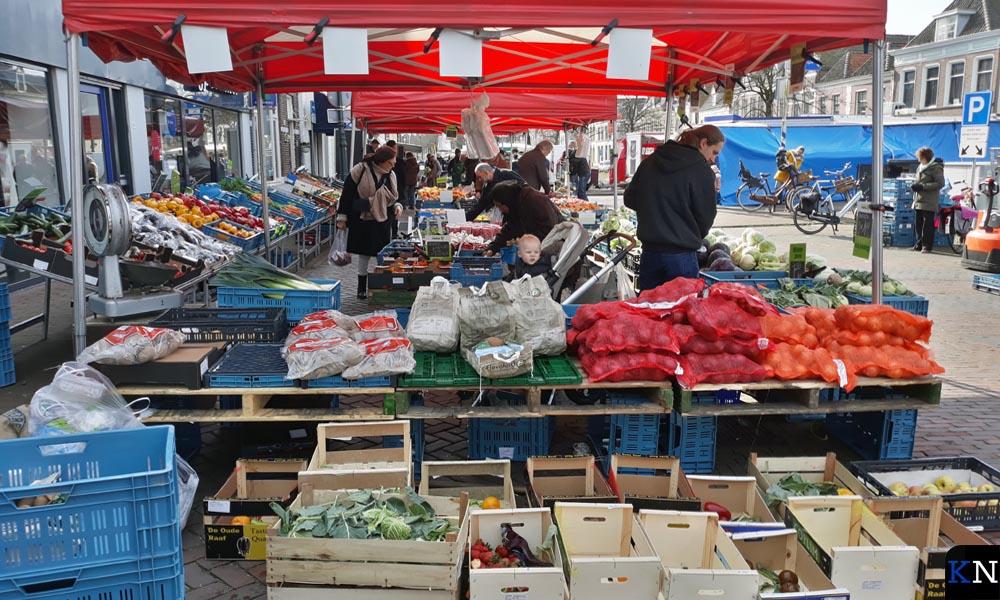 Maandagmarkt in Kampen.