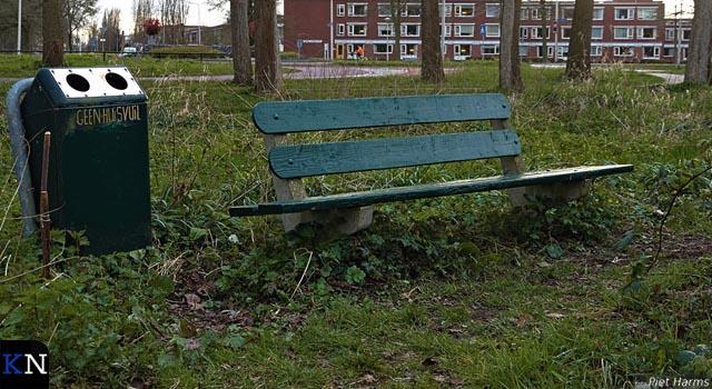 Nocoronabankje in Groene Hart Kampen