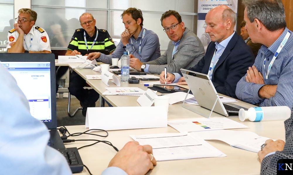 Vergadering van Veiligheidsregio IJsselland.