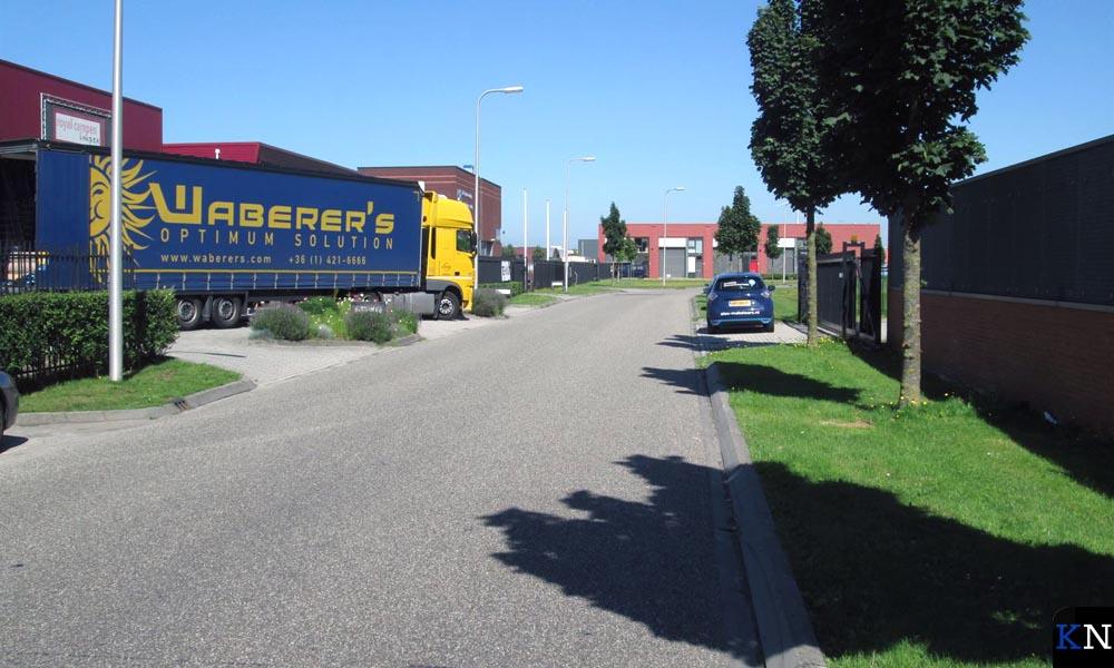 De Eckterstraat op Bedrijvenpark RW50.