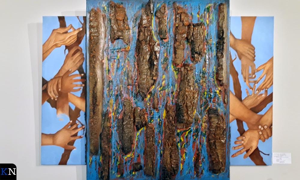 Een schilderij geïnspireerd door de IJsselkogge.