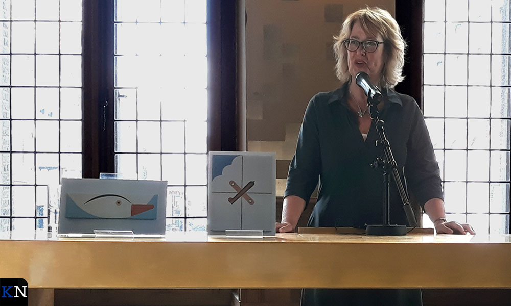 Yvonne Oordijk vertelt over de totstandkoming van expositie en collectie.