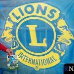 Het logo van de Lionsclub.
