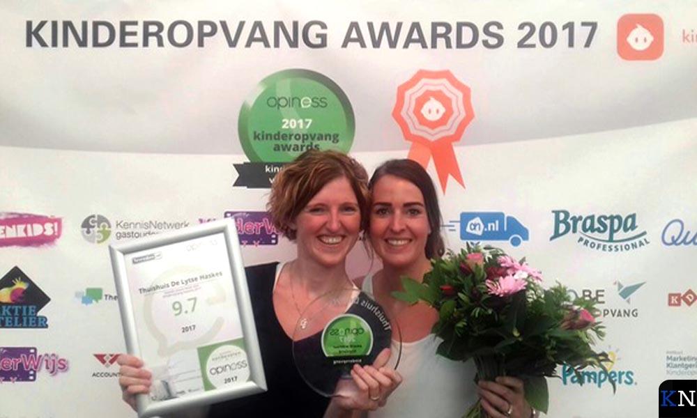 Gastouderbureau Piekeboe (Friesland) werd vorig jaar uitgeroepen tot beste gastouderbureau van Nederland.