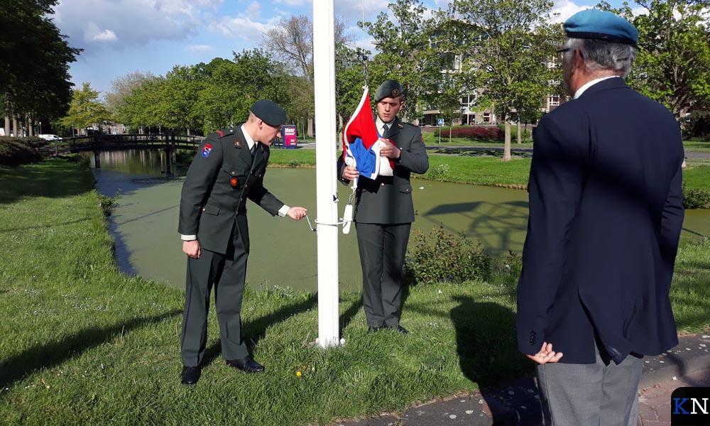 Genisten assisteerden bij de Dodenherdenking.