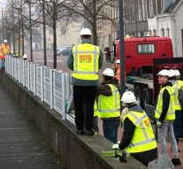 Waterkering Kampen afgebroken en terug in magazijn
