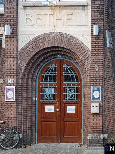 De Bethelkerk, buurt- en kerkhuis aan de Jurriaan Kokstraat 175 in Den Haag (Scheveningen).