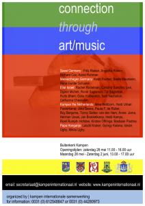 Het kunstprogramma op zaterdag 26 mei in de Buitenkerk.