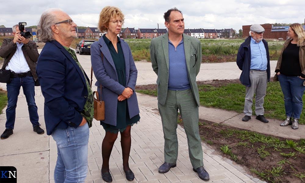 V.l.n.r. Dick Spijker, Irma van der Sloot, Joep van Lieshout en Henk Laarakkers.