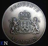 Zilveren legpenning voor Petra Menke-Koerner in Soest (D)