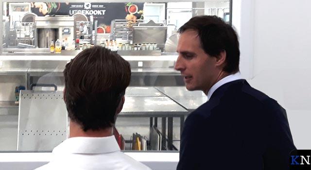 Minister van Financiën op bezoek in de regio (video)