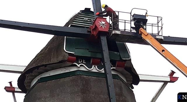 Restauratie Zalker molen De Valk verloopt voorspoedig