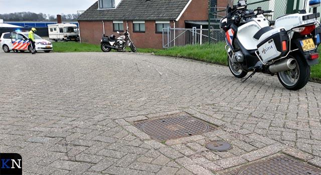 Motorrijder onderuit op Werfweg