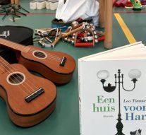 Prentenboek 2019 muzikaal verbeeld bij 'het Visnet'