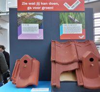 Expostand 'Natuurinclusief bouwen' prijkt in hal Kamper Stadhuis
